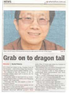 Feng Shui Master in Berwick Leader Newspaper
